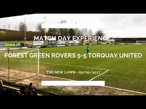 Groundhop at The New Lawn - Forest Green Rovers 5-5 Torquay United - THE BEST MATCH I'VE EVER SEEN