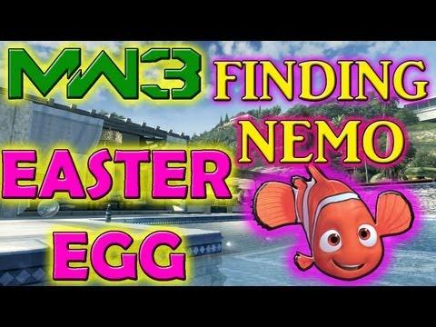 "MW3: ""Finding Nemo EASTER EGG"" on GETAWAY (UNLOCK TUTORIAL INSIDE!!)"