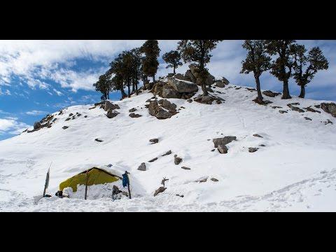 Trek to Triund, Mcleodganj - Dharamshala