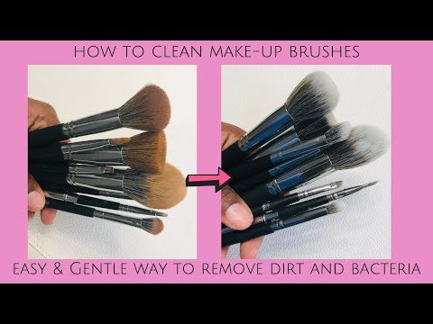 How To Wash Make up Brushes | Easy and Gentle Cleaning | BH Cosmetics Brush Set