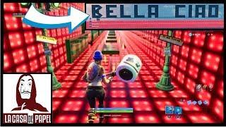 """I REALISE """"BELLA CIAO"""" ON FORTNITE ♫♫ (BELLA CIAO M-SICA)"""