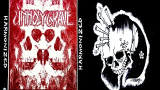 "Unholy Grave / P.L.F. (Pretty Little Flower) - split 7"" FULL EP (2005 - Grindcore)"