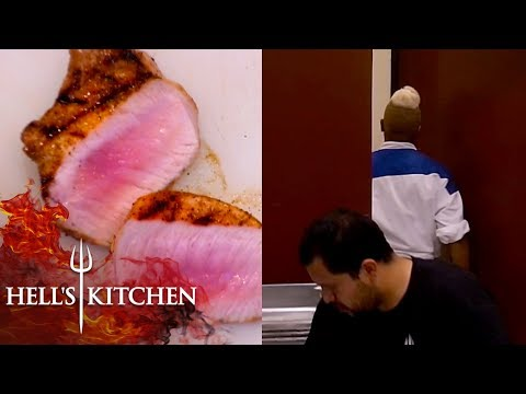 Chef WALKS OUT During The Season Finale | Hell's Kitchen