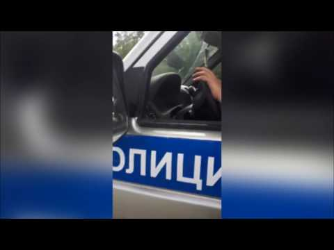 Задержание водителя в Нязепетровске