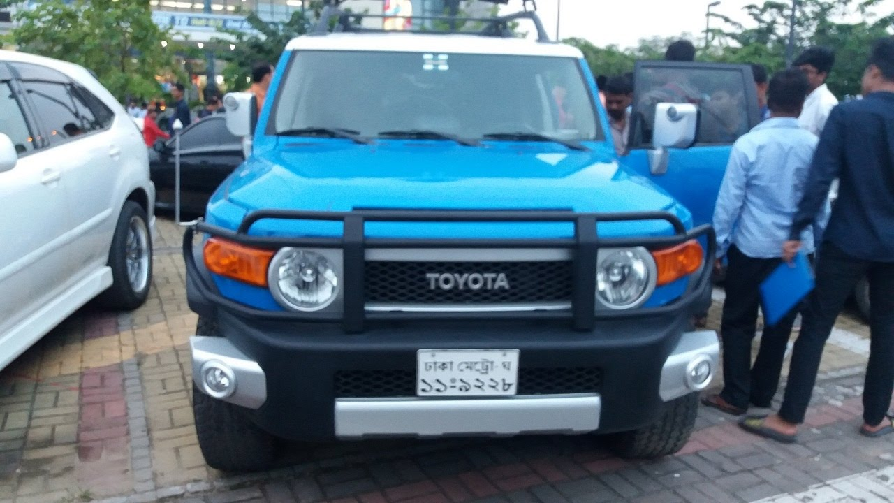 Dhaka Motor Show 2017 Toyota Fj Cruiser Price Specifications
