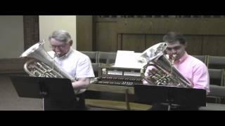 Telemann Duet in Canon - Euphoniums