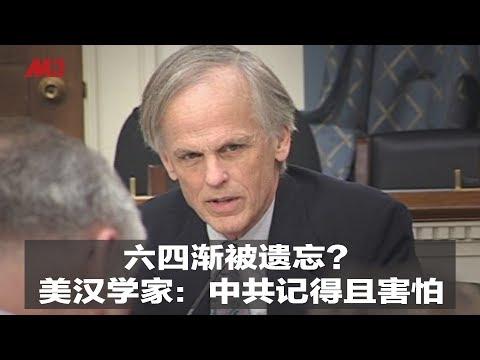 六四渐被遗忘?美汉学家:中共记得且害怕|新闻时时报(20190522)