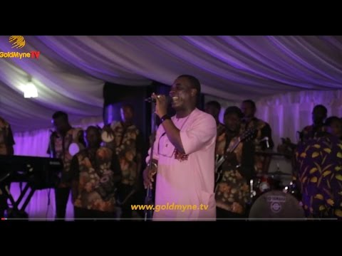 K1'S PERFORMANCE AT BURIAL RECEPTION OF ENIOLA BADMUS' FATHER