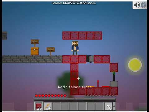 Mineblocks - How to build a one-way piston door