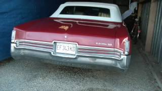 1970 Buick Electra 225 cold start with Magnaflow 3 XL muffler