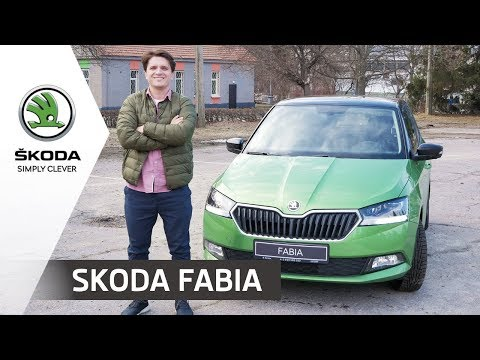 SKODA FABIA. Тест-драйв супер-мини авто с Анатолием Анатоличем (Зе Интервьюер)