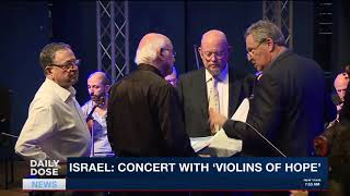 DAILY DOSE | Violins that survived Nazi concentration camps find new life in Israel