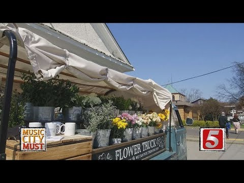 Music City Must - Amelia's Flower Truck