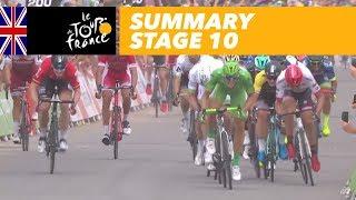 Summary - Stage 10 - Tour de France 2017