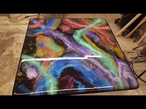Table Top resin pour