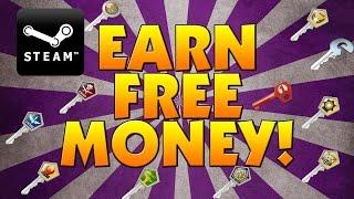 HOW TO GET FREE STEAM MONEY! (2017) (NO SURVEY)