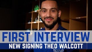 FIRST INTERVIEW WITH THEO WALCOTT