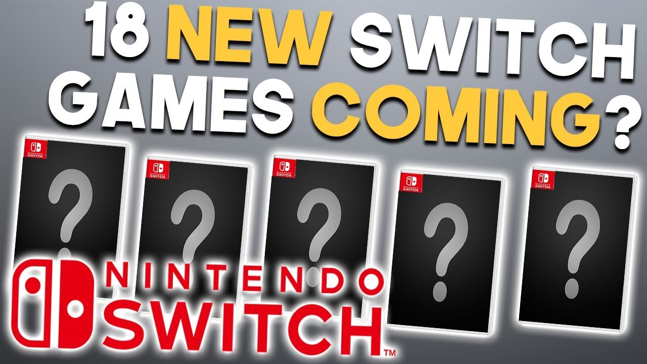 18 New Nintendo Switch Announcements Coming And Big Sale