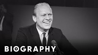 Gerald Ford - The United States' 37th Vice President & 38th President | Mini Bio | Biography