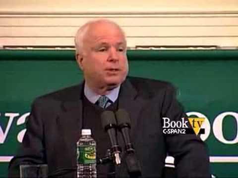 Book TV: Sen. John McCain Character is Destiny