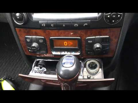 Mercedes S W220 A/C Auto Button and Fault Codes Question