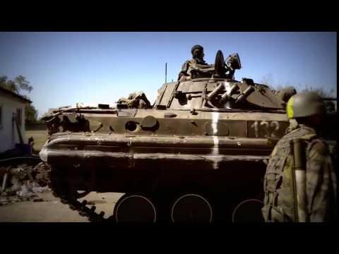 Попадание комулятивного снаряда в танк видео