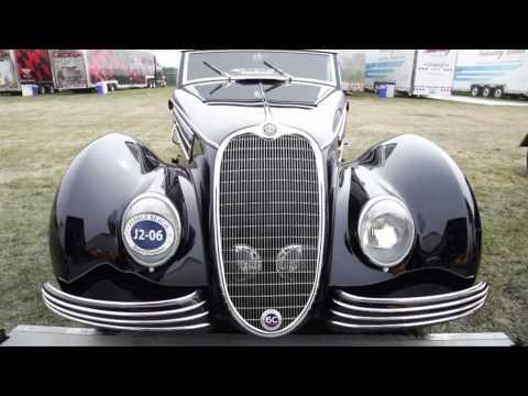 Swiss Masterpiece:  1940 Alfa Romeo 6C 2500 SS Graber Cabriolet