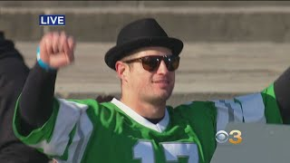 Brent Celek Speaks At Championship Ceremony