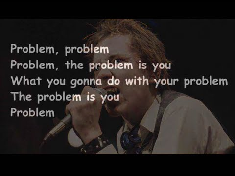 Sex Pistols - Problem (Lyrics)