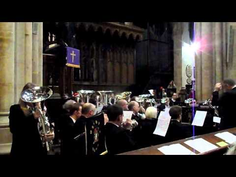 Foss Dyke Band & Ami Petch  (O Holy Night)  St Mary Magdalene Church in Newark - Lincolnshire Co-op