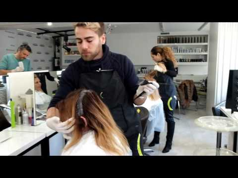 Loreal Academy Bulgaria/ The colorists team create a seminar for coloring, cuts and styling