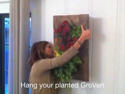 GroVert - Vertical Garden Frame Install