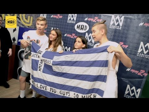 Meet and greet with marcus and martinus in greece youtube meet and greet with marcus and martinus in greece m4hsunfo