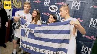 Meet and Greet with Marcus and Martinus in Greece!
