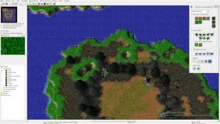 Warcraft 3 очень красивый и необычный выбор расы[Ссылка на карту в описании]