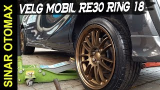 Video Modifikasi Mobil Toyota SIENTA Menggunakan Velg Mobil RE30 Ring 18 Bronze ML download MP3, 3GP, MP4, WEBM, AVI, FLV Agustus 2018
