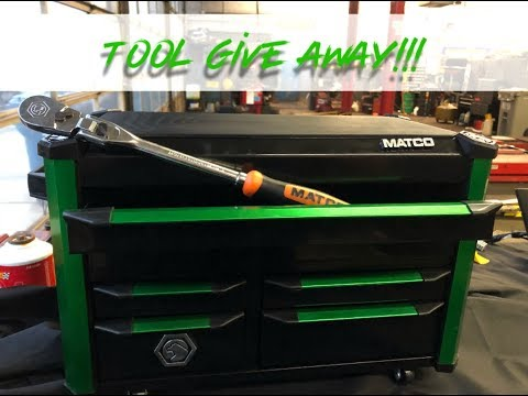 Matco tool box giveaway