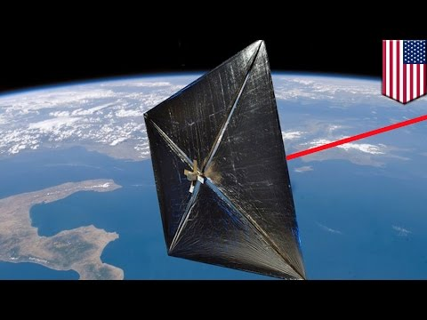Laser propulsion: NASA's laser-powered spacecraft will fly t