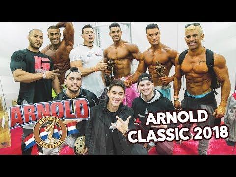 ARNOLD CLASSIC OHIO 2018   BRASIL CAMPEÃO 🏆ft. Shevi e Rey Physique