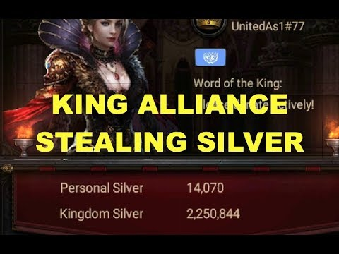 Clash Of Kings : KING Alliance Stealing Silver 🤔🤔😏 - K77 Climate