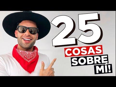 ANTES DE SER YOUTUBER | 25 COSAS SOBRE MI | iOA