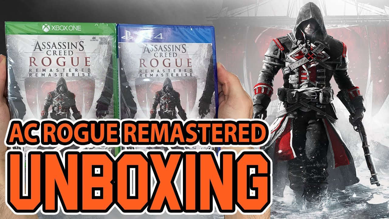 Assassin S Creed Rogue Remastered Xbox One Ps4 Unboxing Youtube