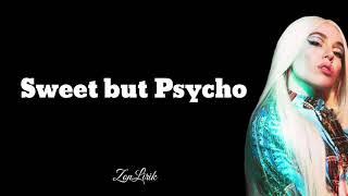 Sweet but Psycho - Ava Max    lirik lagu