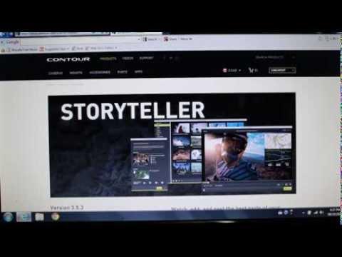 Contour roam 2 camera: storyteller software download link not.