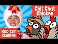Chit Chat Chicken With Meg! | Sing And Dance | Animal Songs | Made By Red Cat Reading video