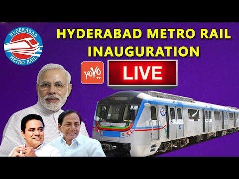Hyderabad Metro | Modi In Hyderabad | Ivanka In Hyderabad | YOYO Kannada News