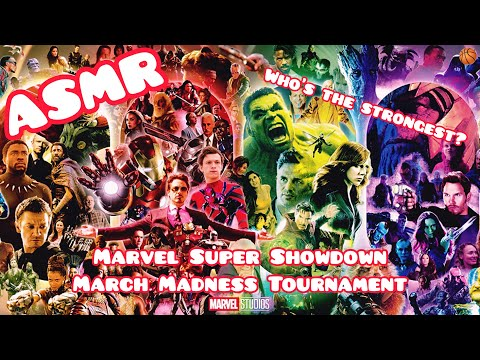 asmr-|-marvel-showdown-💥-(march-madness-tournament)-w/whispering,-tapping,-assorted-sounds