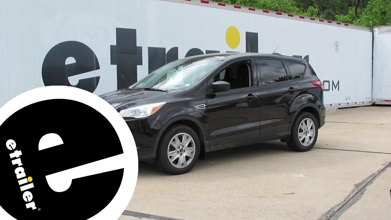 Install Weathertech Mud Flaps  Ford Escape Wt Etrailer Com