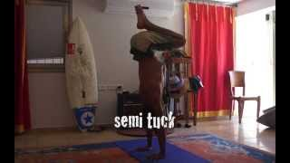 handstand variations! cool music