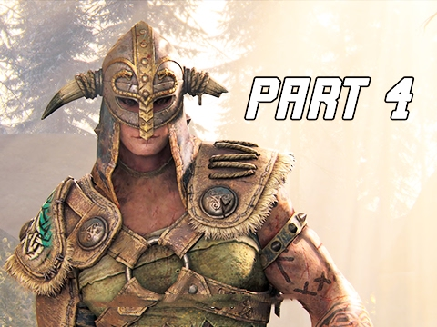 for honor walkthrough part 4 viking campaign story ps4 pro let s play gameplay commentary